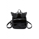 Lovely Wing Shaped Waterproof Laser Mini Travel Bag Backpack 19*8*23 CM