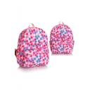Chic Polka Dot Printed School Bag Backpack for Students 31*14*41 CM