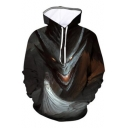 Queen and Dragon Cool 3D Printed Long Sleeve Pullover Relaxed Sport Unisex Hoodie