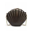 Summer Fashion Shell Shaped Long Strap Crossbody Bag 20*7*18 CM