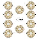 (10 Pack)5W 5 Optional Models Recessed Light Vintage Style 2-4 Inch LED Ceiling Light Recessed for Living Room Hallway