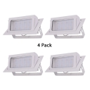 (4 Pack)40W COB Recessed Light Angle Adjustable Rectangle Ceiling Light in Warm White/White for Dining Room