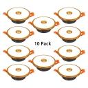 (10 Pack)4 Color Option Recessed Light 3-3.5 Inch Acrylic Round Ceiling Light Recessed in White/Warm for Living Room