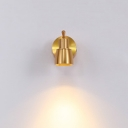 Aluminum Wireless Spot Light 1/2/3 Lights Simple Style High Brightness LED Track Light in Gold