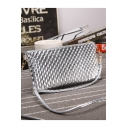 Popular Solid Color Nail Pattern Crossbody Sling Bag 22*1.5*12 CM