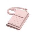 Fashion Floral Printed Long Strap Crossbody Cell Phone Wallet 11*4.2*18 CM