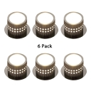 (6 Pack)Foyer KTV Hotel Light Fixture Decorative Cylinder Shape LED Spot Light with Multi Color Choice