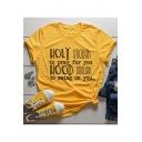 Women Faith T-shirt Christian Jesus Holy Enough Casual Cotton Tee