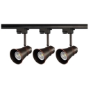 Gallery Museum Rotatable Track Lighting Metal 3 Lights Commercial High Brightness LED Ceiling Light