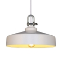 Barn Shape Pendant Light Single Light Industrial Metal Ceiling Fixture for Restaurant Shop