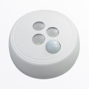 Battery Powered/USB Charging Cabinet Light Infrared Sensing and Dusk to Dawn Sensing LED Closet Lighting in White/Warm