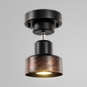 Industrial 1/2 Heads Ceiling Fixture Angle Adjustable Wireless LED Spot Light for Restaurant Bar