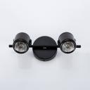 Angle Adjustable Wall Light Bathroom Shop 2/3 Lights Modern Style Track Lighting in Black