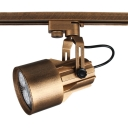 Antique Rotatable Spot Light 1 Head High Brightness Track Lighting in White/Warm for Display Window