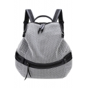 Cool Mesh Large Capacity Zipper Travel Backpack 28*13*36 CM