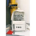 Cool Letter Printed Transparent Patched School Bag Backpack 30*12*40 CM