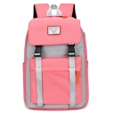 New Trendy Letter Patched Anti-theft Laptop Backpack School Bookbag 32*19*42 CM
