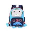 Cute Cartoon Robot Shaped School Bag Backpack for Kids 24*10*26 CM