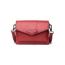 Fashion Letter Pattern Crossbody Bag with Adjustable Strap