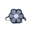 Cute Flower Shape Mini Crossbody Purse for Girls 14*4*14 CM