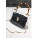 New Trendy Transparent Crossbody Bag Satchel Bag 21*3*17 CM