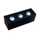3/4 Heads Rectangle Down Light Long Life High Brightness LED Spot Light in Neutral/Warm White for Bedroom