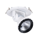 20/30W Round Spot Light Angle Adjustable LED Light Fixture in White/Warm White for Foyer Hallway