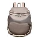 Fashion Solid Color Leisure Durable Oxford Cloth Shoulder Bag Backpack 23*12*32 CM