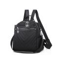 Popular Plain Watertight Anti-theft Oxford Cloth Travel Bag School Backpack
