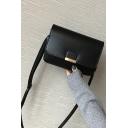 Popular Solid Color Cover Square Crossbody Bag Shoulder Bag