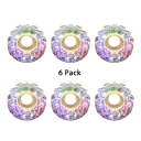 (6 Pack)Beautiful Flower Shape Recessed Light 5W Wireless LED Ceiling Light Fixture for Living Room Hallway