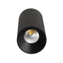 Gold/Black/White LED Flush Mount Light Aluminum Cylinder Spot Light in White/Warm for Restaurant Hotel