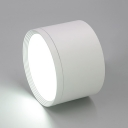 Motion Sensor Black/White Spot Light High Brightness Slim Panel Down Light in White/Warm for Bathroom Hallway