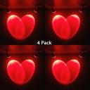 (4 Pack)Wireless High Brightness Ceiling Light Multi Color Choice LED Spot Light for KTV Living Room