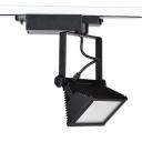 Aluminum Black/White Ceiling Light Shop Mall 1 Head Commercial Rotatable Ceiling Light in White/Warm