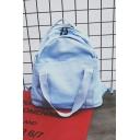 Trendy Solid Color Tote Shoulder Bag Casual Backpack 35*13*38 CM