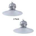 1/2 Pack Aluminum LED Warehouse Light 1 Light High Brightness 150W Bay Lighting for Workshop