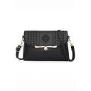 Designer Embossing Pattern Crossbody Messenger Bag 27*7*17 CM