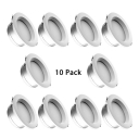 (10 Pack)4/6 Inch Recessed Light Dining Room Living Room Slim Panel Light Fixture Recessed in White/Warm/Neutral