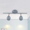 2/3 Heads Metal COB Spot Light Wireless High Brightness LED Light Fixture for Foyer Hotel