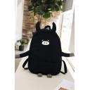 Cute Cartoon Pig Pattern School Bag Backpack for Junior 28*11*39 CM