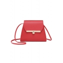 Best Designer Large Capacity Solid Color Hasp Crossbody Shoulder Bag 18.5*7*15 CM