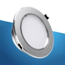 (10 Pack)9/12W Round Recessed Down Light 3.5/4 Inch Wireless LED Flush Mount Recessed in White/Warm White
