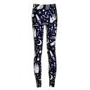 Unique Cool Graffiti Printed Women's Skinny Fit Leggings