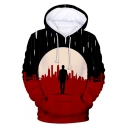 New Stylish Cool Figure 3D Printed Long Sleeve Sport Casual Pullover Hoodie