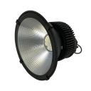 Black Cone LED High Bay Light 150W High Brightness Aluminum Ceiling Light in Cool White/Warm White for Stadium