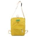 Lovely Bow-knot Fruit Pattern Multipurpose School Backpack Crossbody Shoulder Bag 26*12*34 CM