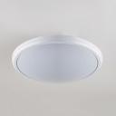 Waterproof Slim Panel Flush Light Acrylic LED Ceiling Light in Black/Gold/White for Bathroom