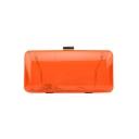 New Trendy Plain Transparent Acrylic Prom Crossbody Clutch Bag 20*5*9.5 CM