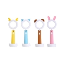 Kid Bedroom Animal LED Desk Lamp Silica Gel Lovely Switch Reading Light with USB Charging Port